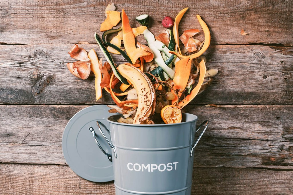 Compost container from Walmart Garden Center