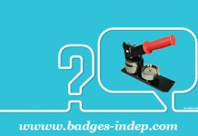 Machine à badge et presse à badge professionnel