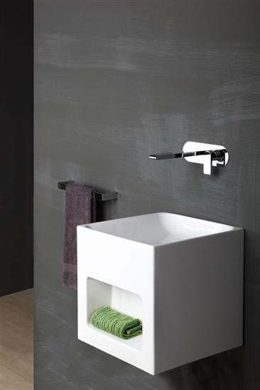 Bonomi - Bonny - Miscelatore lavabo da incasso a parete Ph. Sitodirossa bassa