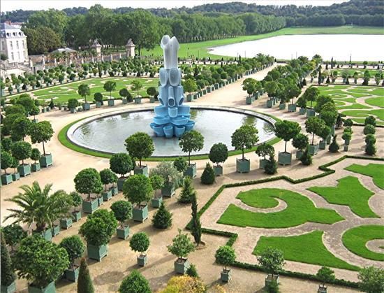 La fontana di Atlantide a Versailles