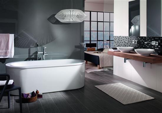Vasca Da Bagno Trapezoidale : Vasche da bagno loop & friends di villeroy & boch bagno italiano blog