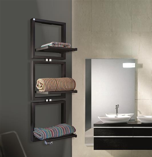 Termoarredo di design deltacalor presenta tris bagno italiano blog - Scaldasalviette da bagno ...