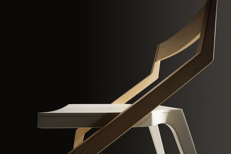 Zed, la sedia in legno di Natisa