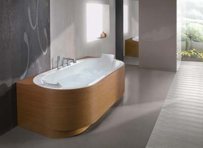 Vasca Da Bagno Blu Bleu : Vasca da bagno ovale blubleu yuma art bagno italiano
