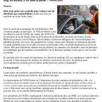 "Article presse ""L'avenir.net"""