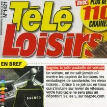 """Article presse """"Télé-Loisirs"""""""