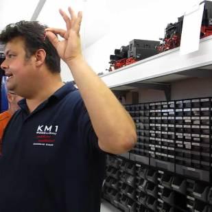 Hier gibt es Ersatzteile für alle KM1-Modelle.