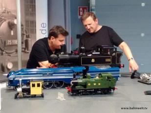 Neu bei KM 1: Live Steam Modelle.