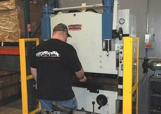 Factory Five uses Baileigh Press Brakes