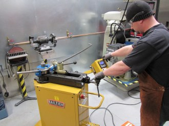 Ekstrom Design Uses Baileigh Tube Bender