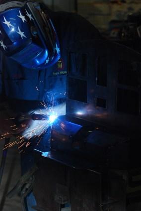 Trainworks, Using Baileigh Industrial Sheet Metal Brakes