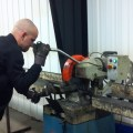 Action Manufacturing using Baileigh Cold Saw