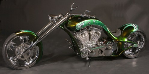 Austin Weiss Custom Chopper