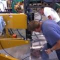 Customer Using Baileigh Bead Roller