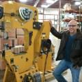 Ken Crain uses Baileigh Industrial Power Hammer