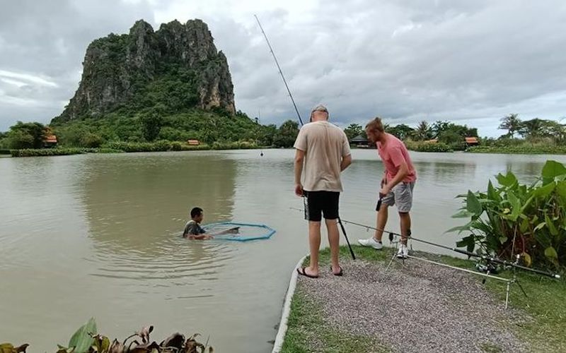 stocked ponds exist in thailand