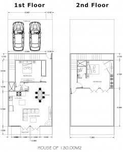 San Antonio del Mar Floor plans