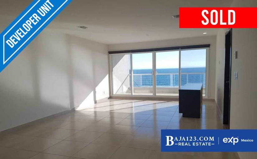 SOLD – Oceanfront Condo For Sale in La Jolla Excellence, Rosarito Beach – $368,000 USD