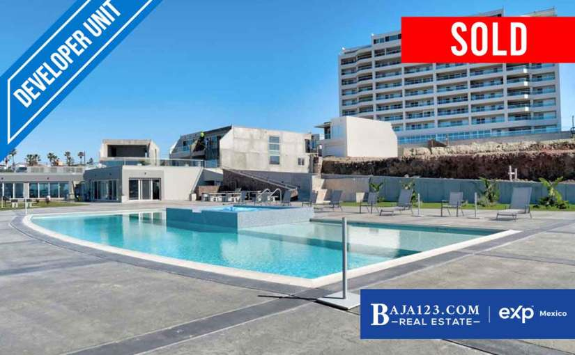 SOLD – La Jolla Excellence Oceanfront Condo For Sale In Rosarito Beach – $339,000 USD