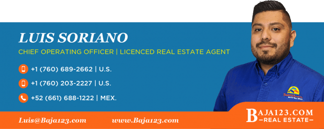 Luis Soriano - Rosarito Beach Real Estate Agent