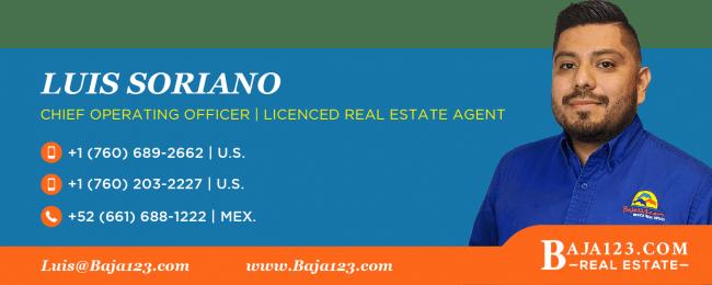 Luis Soriano - Rosarito Beach Real Estate Agent