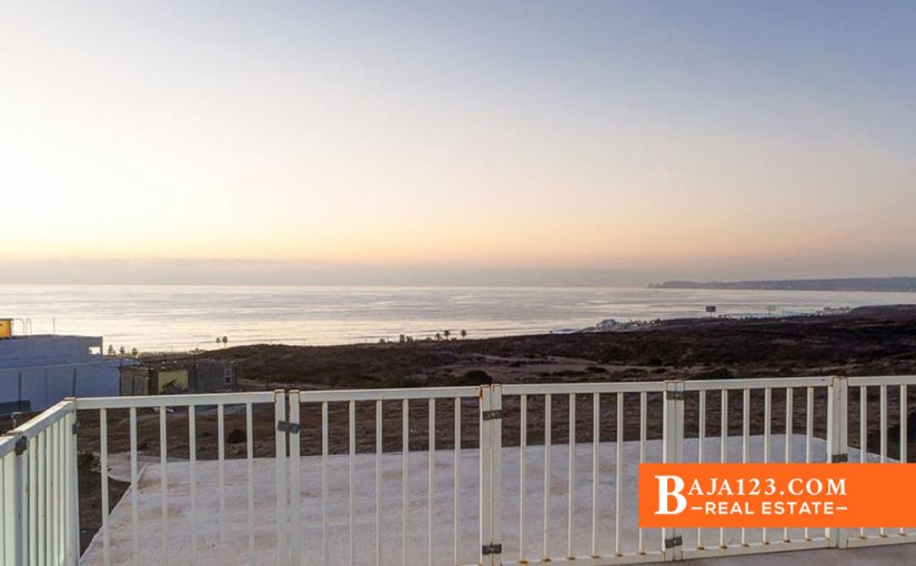 EXPIRED – Ocean View Home For Sale in Hacienda Vista Mar, Rosarito Beach – $128,000 USD