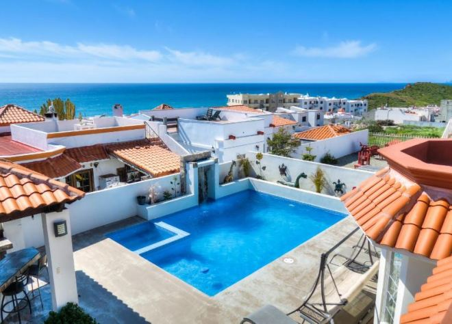 Ocean View Home For Sale in Plaza Del Mar, Playas de Rosarito