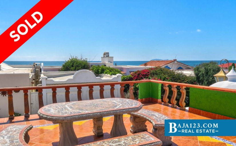 SOLD – Ocean View Home For Sale in Castillos del Mar, Playas de Rosarito