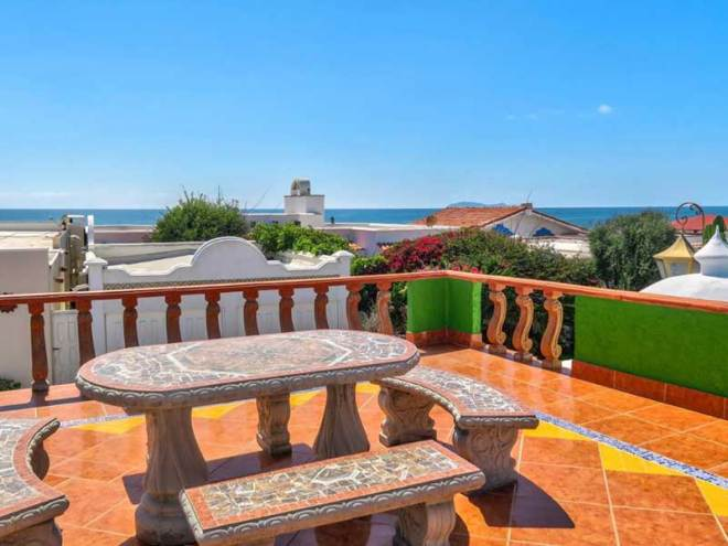Ocean View Home For Sale in Castillos del Mar, Playas de Rosarito