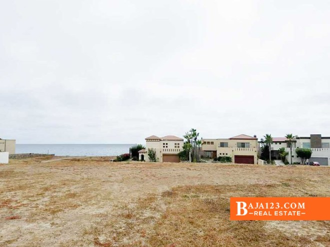 Ocean View Lot For Sale in Punta Piedra, Ensenada