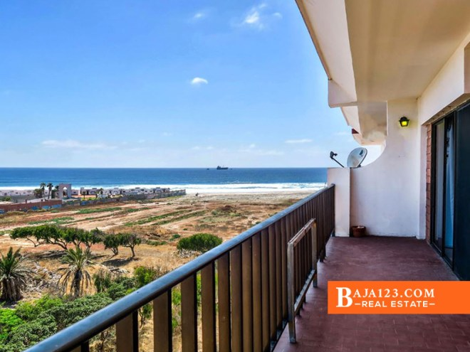 Ocean View Condo For Sale in Quintas del Mar, Rosarito Beach