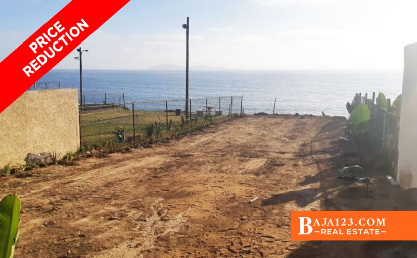 EXPIRED – Oceanfront Lot For Sale in Punta Bandera, Tijuana – $230,000 USD