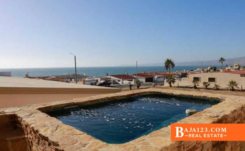 EXPIRED – Ocean View Home For Sale in Mision Viejo, Rosarito Beach – $399,000 USD