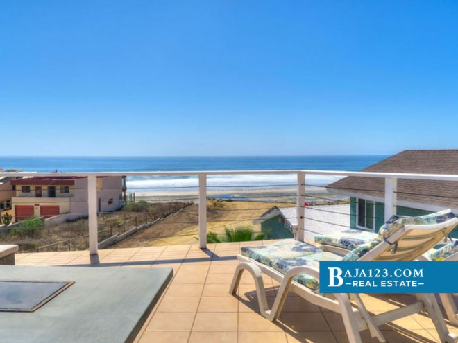 Oceanfront Home For Sale in Reforma, Playas de Rosarito