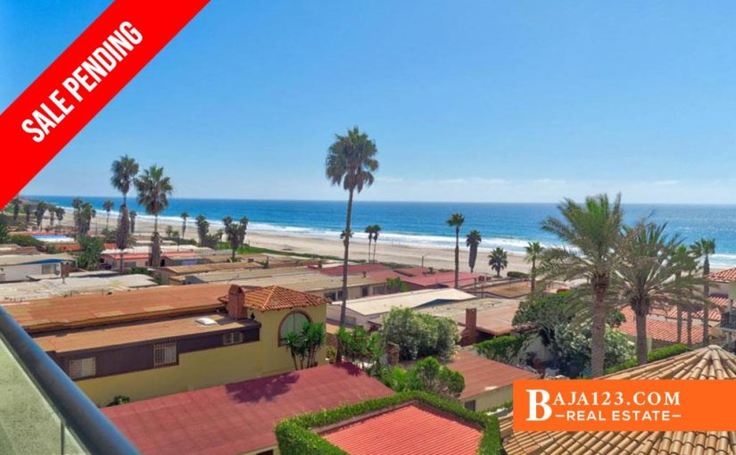 SALE PENDING – Oceanfront Condo For Sale in Rosarito Beach Condo Hotel, Playas de Rosarito – $120,000 USD