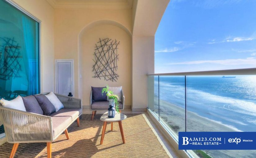 Oceanfront Condo For Sale in Las Olas Mar y Sol, Playas de Rosarito – $262,500 USD
