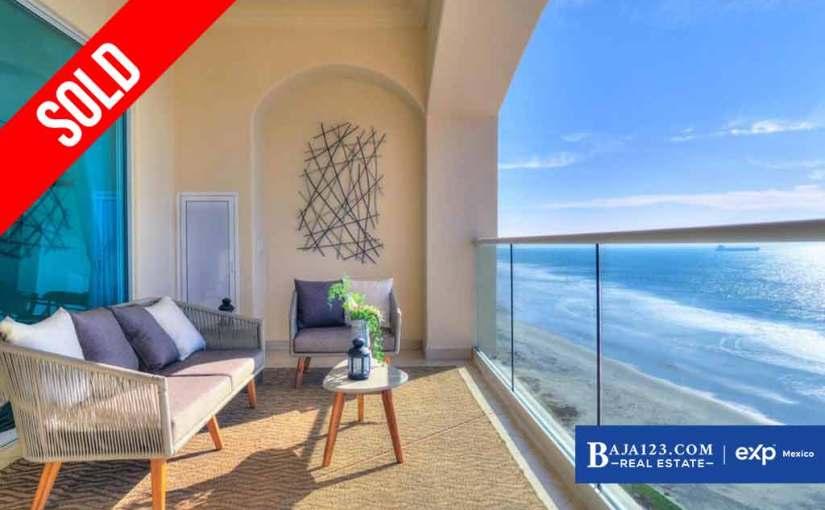 SOLD – Oceanfront Condo For Sale in Las Olas Mar y Sol, Playas de Rosarito – $262,500 USD