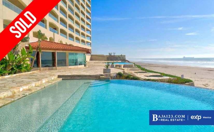 SOLD – Oceanfront Condo For Sale in Las Olas Mar y Sol, Playas de Rosarito – $258,000 USD