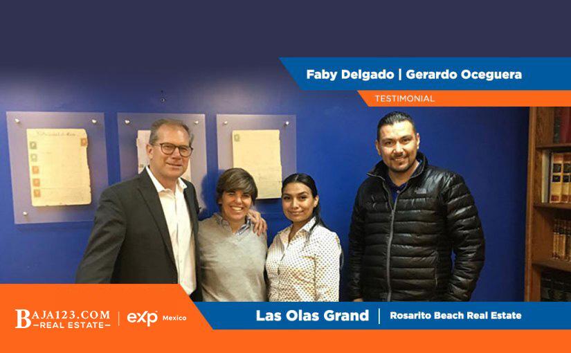 Gerardo Oceguera and Faby Delgado Clients Experience – Las Olas Grand, Rosarito Beach