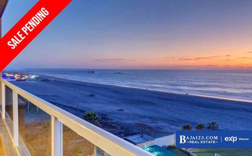 SALE PENDING – Oceanfront Condo For Sale in Riviera De Rosarito – $329,000 USD