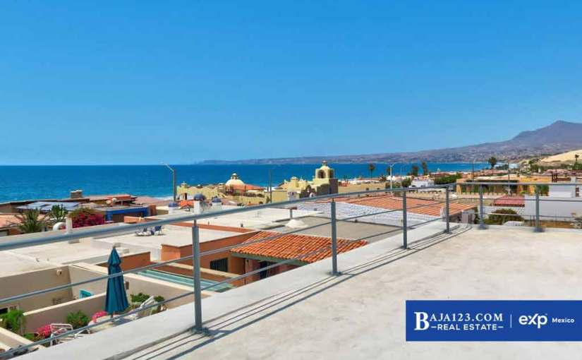 Ocean View Home For Sale in Mision Viejo South, Rosarito Beach – $369,000 USD