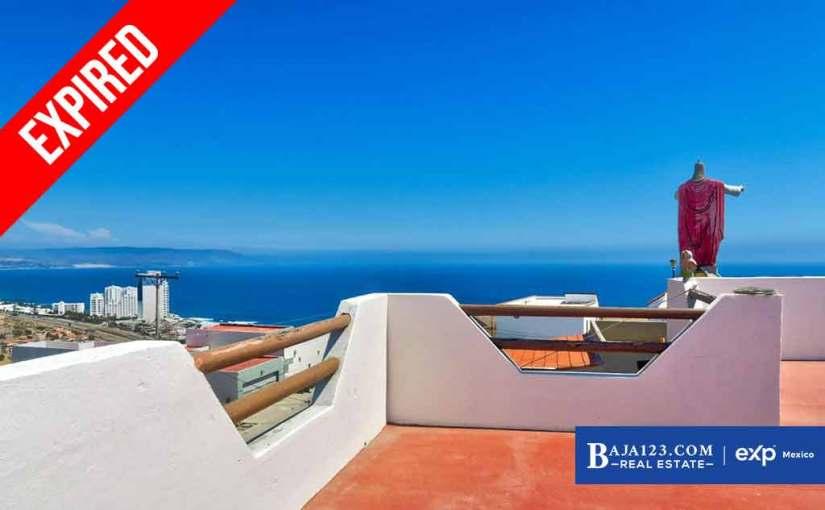 EXPIRED – Ocean View Home For Sale In Villas San Pedro, Rosarito Beach – $259,500 USD