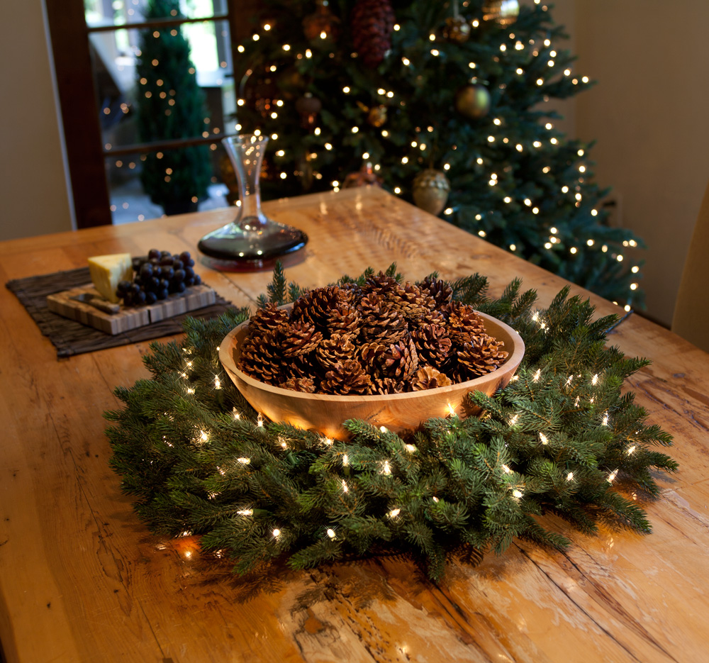 Where To Place A Wreath Using Wreaths Indoors Balsam