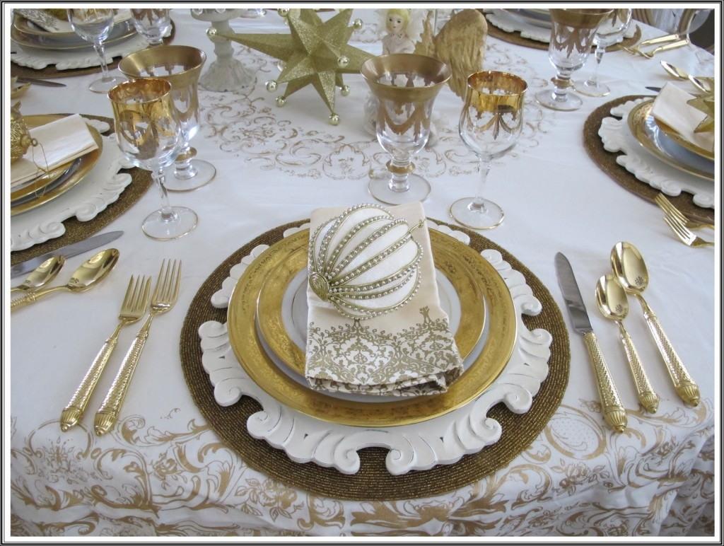holiday decorating ideas christmas table settings