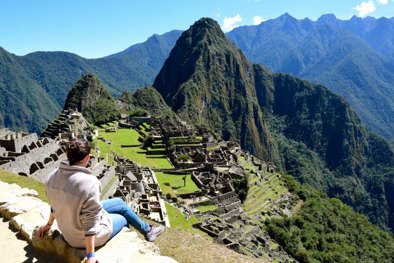 Sit back, relax and enjoy the views of Machu Picchu- Peru