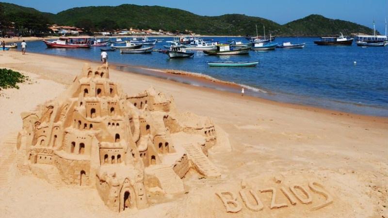 Enjoy a relaxing day on the Buzios Beach in Brazil