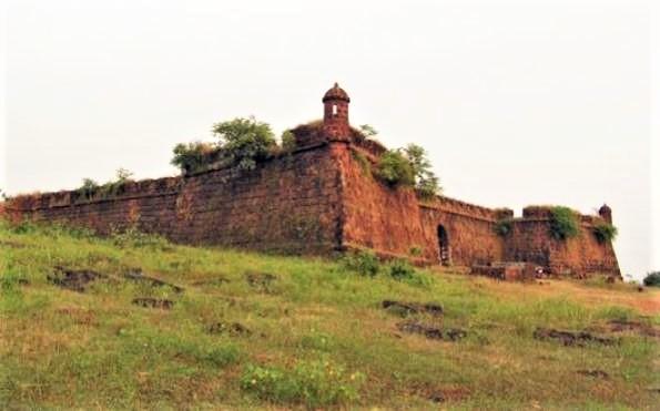 Fort Corjuem in Goa, India