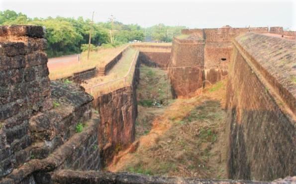 Fort Aguada in Goa, India