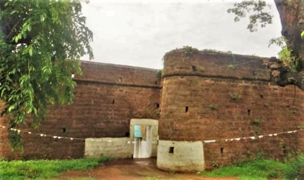 Mormugao Fort in Goa, India