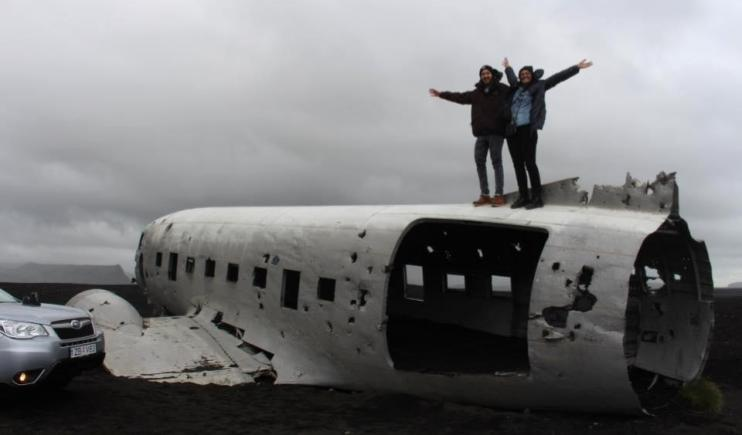 The Untouched Crashed Plane- 2 Weeks in Iceland